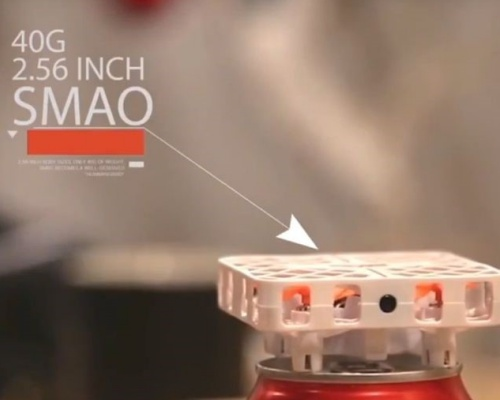 「SMAO (シュマオ)」ドローン×VRで空飛ぶ疑似体験ができるかも
