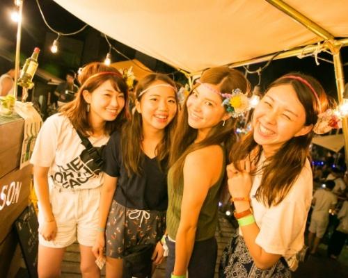 MUJINTO cinema CAMP2018〜無人島でシネマ×音楽フェス!〜