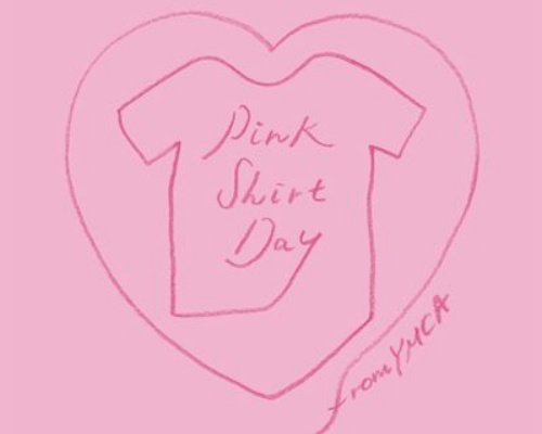 いじめのない社会を作っていこう「2月28日YMCAピンクシャツデー」