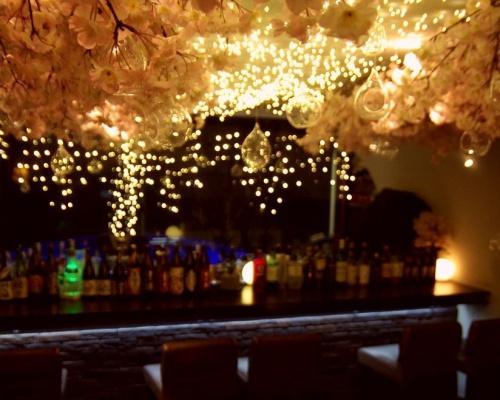 吉祥寺 SUN Tama Barで屋内花見「吉祥寺 夜桜 2018」こんなバーでデートしてみたい