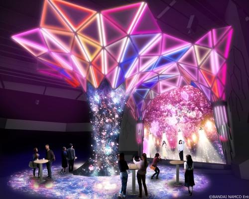 春を感じる近未来的お花見イベント「VR ZONE SHINJUKU」