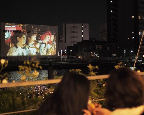 これぞ次世代映像! パナソニックが東京・天王洲運河エリアの賑わいを創出