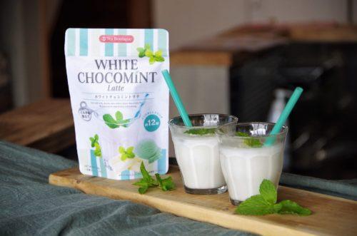 夏限定白いチョコミントラテ「インスタント ホワイトチョコミントラテ」