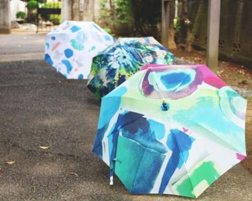 デザイン傘の販売・購入ができるWEBサービス「Luck+Designers」