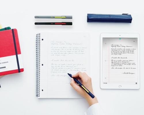 紙に書いてデジタル保存するスマートペン「Neo smartpen M1」