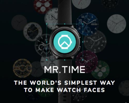 """""""アップルウォッチ""""を好きにデザインするアプリ「MR.TIME」"""
