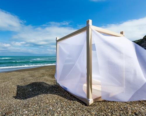 新「ビーチボックス」で海が苦手でもOKなプライベート空間を