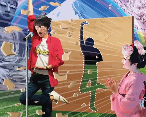 「ぶちカラ」カラオケで熱唱しながらポーズを決める!新感覚VRが東京ゲームショウに出展