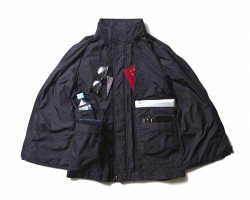 バッグを持ちたくない男子に「ティモーネ」からマルチポケットブルゾン
