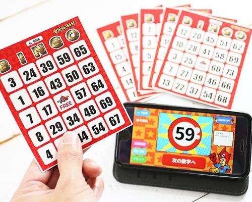 アプリと連動のビンゴカードが発売!幹事が大助かりな機能とは