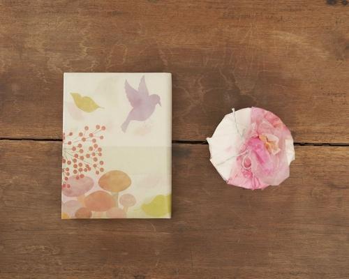 """使い終わっても楽しめる!儚い雰囲気が美しい「glassine paper Calendar """"satoyama""""」"""