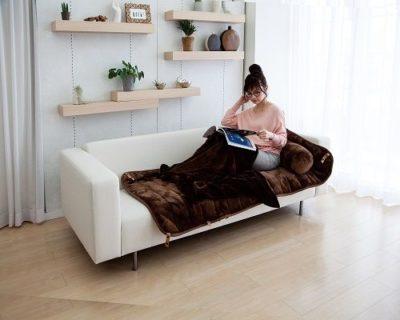 一人暮らしにマジ最適な暖房グッズ!「クッション・毛布付きごろ寝マット」
