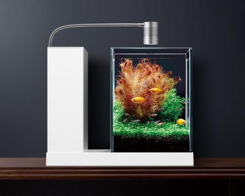インテリアにマッチする水槽「AQUA-U」がグッドデザイン賞に