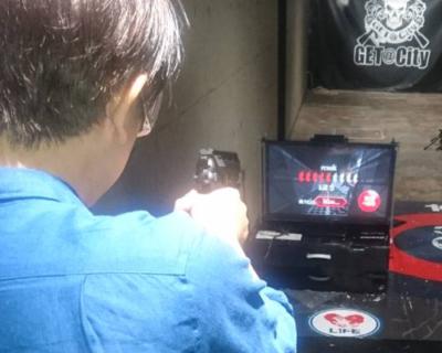 「STSG(エスティーエスジー)」電子ターゲットで弾丸を画面にぶち込め!