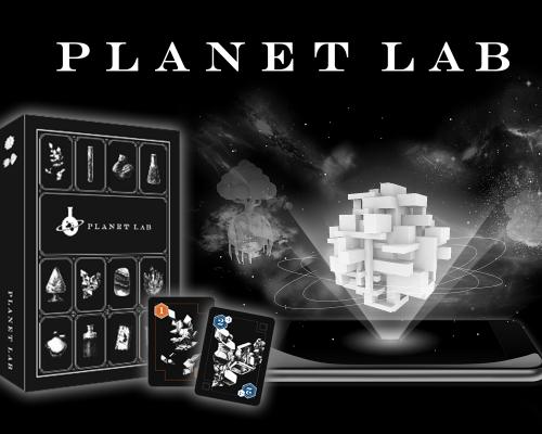 マジで浮かび上がる惑星!新体験ボードゲーム「PLANET LAB」がなんか超スゴイ