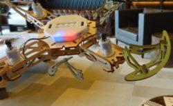 自分で組み立てる木製DIYドローンが登場!「Wooden Diy Drone」