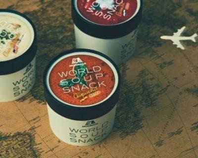 世界各国のスープを1粒で味わえる「ワールドスープスナック」
