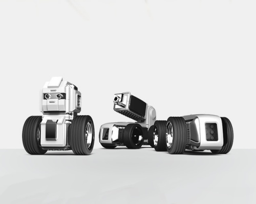 自分でプログラミングできるブロック型ロボット「マウンジ(MAUNZI)」