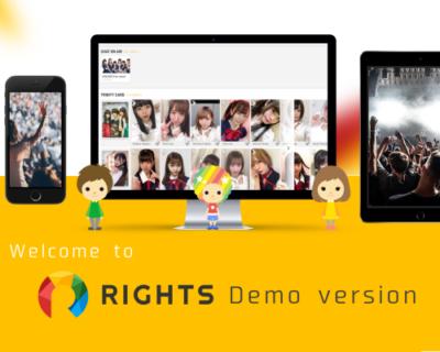 世界初!アーティスト自作「画像・音声・動画・サイン」が デジタル資産になる「RIGHTS」