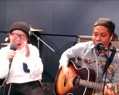 虹色侍が歌う話題のバカッターに向けたオリジナルソング「バカッターお疲れ」