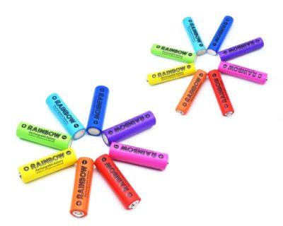 高スペックでSNS映えする!?ニッケル水素電池 「RAINBOW《レインボー》」2種を2月6日に発売!