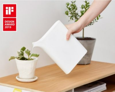 iFデザインアワード2019受賞! 幅4cm「ブック型1Lジョーロ」こんなの欲しかった!