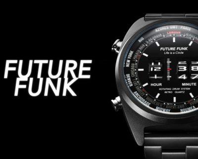 ローラー式腕時計「FUTURE FUNK」に新作登場!ローラー式って知ってる?