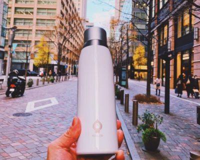 一目で温度がわかるスマートボトル「SGUAI」が未来的水筒でステキ。