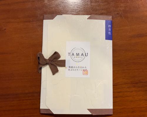 あぶらとり紙専門店「ひより」の和紙から生まれたハンカチが超便利すぎる