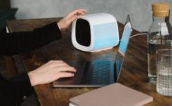 USBで使える!水で冷やす優しいエアクーラー「evaCHILL」がオフィスにいい