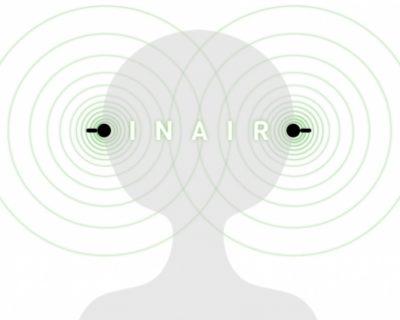 「INAIR M360(インエアー)」完全に耳に入れるイヤホン型スピーカー
