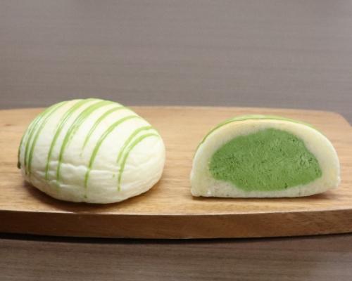 クリームパン専門店の抹茶クリームパン「kyo・maccha 京抹茶」