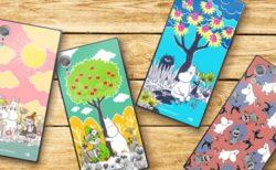 超かわいいムーミンのカラフルなコミック柄!四角いiPhone用ケース4種登場