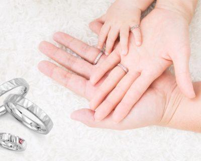 パパとママの結婚指輪とお揃いのリング!「ベビーリング」って知ってますか?