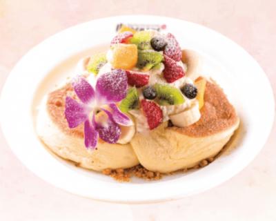"""ハワイアンパンケーキ「Merengue(メレンゲ)」2枚で100円なのに""""ふわうま"""""""