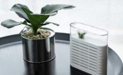 何度でも繰り返し使えるコンパクト除湿器「PLANT」