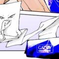 ギャッツビーのコラボ漫画「一反もめんが転生したらボディペーパーだったんだが」が斬新すぎ